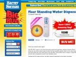 Floor Standing Water Dispenser for $198 + $18 Shipping at Harvey Norman (Save $390)