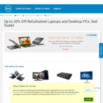 Up to 20% off Dell Refurbished @ Dell Outlet