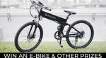 Win an E-bike or Other Prizes from Dexquisite