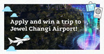 Win 4 Flights to Singapore and 3 Nights Accom - from Changi Airport Jewel