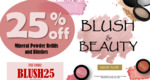 $25 off Purchases $62 or More + $19 Shipping (Free over $150) @ Skin O2