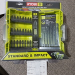 [QLD] Ryobi 32 Pieces Impact Driving and Drilling Bits Set $7.50 (RRP $15) @ Bunnings Oxenford