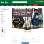 Win a Suunto 5 GPS Sports Watch Worth $549.95 from Paddy Palin