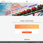 15% off Theme Parks @ Klook