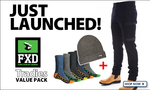Win His and Hers Steel Blue Southern Cross Zip Side Boots from WorkwearHub