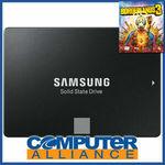 "1TB Samsung 2.5"" 860 EVO SATA SSD + Borderlands 3 PC Std (Worth $79) $159.20 + $15 Post ($0 eBay Plus) @ Computer Alliance eBay"