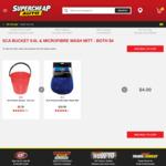 SCA Premium Microfibre Wash Mitt & Plastic Bucket $4, Armor All Wash & Wax 1.25L 2 for $10 @ Supercheap Auto
