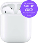 Apple AirPods (Gen2) with Charging Case $214.19 + Express Delivery ($0 with Plus) @ Alcosonline eBay