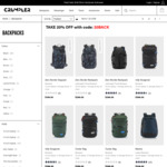 20% off Backpacks, $149 Vis-a-Vis 55cm Cabin Luggage @ Crumpler