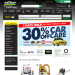 30% off Car Care @ Autobarn