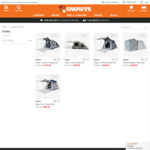 Oztent Lite Oxley Tent $389, Oxley 5 $529 and Oxley 7 $719 @ Snowys