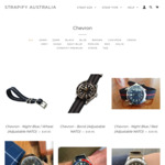 40% off Storewide inc. New Chevron Watch Straps + Free Ship - from $7.17 @ Strapify (Min Spend $20)