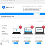$200 off Select Refurbished Laptops @ Renewd (HP Pavilion X360 14 2-in-1 $499)