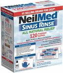 NeilMed Sinus Rinse Refill 120 Premixed Sachets $19.95 Delivered @ Discount Chemist Online