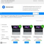$225 off Refurbished Apple Laptops + Free Bag @ Renewd (Selected Laptops Only*)