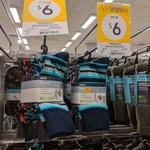 Business Socks 5 for $6.00 at Kmart