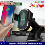 Remax Gravity Wireless Car Charger Mount Holder Buy One for $25.52, Two or More Each for $19.14 Delivered (20-40%off) @ HTL eBay