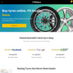 15% off Tyres Deal @ Tyroola