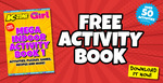 [eBook] Free Mega Indoor Activity Book (PDF) @ K-Zone & Total Girl