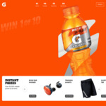 Win 1 of 10 $10,000 Grants for Your Sports Team, or 1000's of Instant Prizes from Pepsico [Purchase Gatorade]