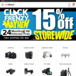 15% off Storewide, E.g. Mavic Mini Fly More Combo $679.15 @ digiDIRECT