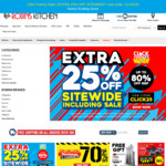 Extra 25% off Sitewide at Robins Kitchen - Click Frenzy