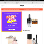 20% off Beauty Brands (Estee Lauder, Clinique, MAC, Lancome, Kiehl's, Tom Ford, Elizabeth Arden + More) @ Myer