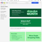 eBay Plus Month: AirPods 2 $99, AirPods Pro $249, Galaxy A70 $299, SodaStream $19, Xiaomi Purifier $179, Neon Switch + Game $449