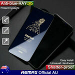 REMAX Color Tempered Glass Screen Protector+Anti-Blue Ray Glass Screen Protector 2 PCS for $19.80 (50%off) Delivered @ HTL eBay