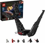 LEGO Star Wars: The Ros Kylo Ren's Shuttle 75256 Building Kit - $135.20 Delivered @ Amazon AU