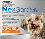 Nexguard V. Small Dog Chewables for Flea and Tick Control Orange 3x $37.49 & More @ Vetsupply.com.au