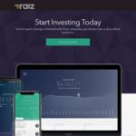 $10 Referral Bonus after First Investment (Was $5) @ Raiz Investment App (New Members)
