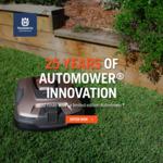 Win a Limited Edition Husqvarna 315X Automower Worth $3,299 from Husqvarna