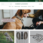40% off Hunter Hunting Collar, Leash and Harness (Free Shipping in Australia) @ Harriet & Hudson-finishes 4/11