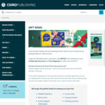 CSIRO Publishing Books – Gift Ideas Catalogue: Selected Discounts + Free ANZ Shipping over $50
