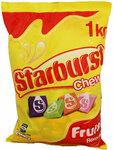 [TAS] Starburst Fruit Chews 1kg $5 @ Shiploads
