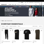 "Reebok - 40% off ""Everyday Essentials"" Range @ Reebok AU"