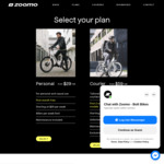 First Month E-Bike Rental Free (Min. 2 Month Subscription) @ Zoomo