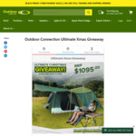 Win Our Ultimate Xmas Camping Gear Giveaway Package Valued at $1905 @Outdoor Connection