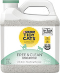 Tidy Cats Free and Clean Unscented Clumping Litter 6.35kg for $12.77/ $12.15 Auto Delivery + Delivery @ Pet Circle