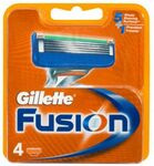 Gillette Fusion5 Blade Refill 4 Pack $14.90 (Was $24.85) @ ShaverShop