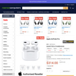 Apple AirPods Pro w/ Wireless Charging Case $314 + Delivery (RRP $399) @ Rosman Computers (OW Price Beat $298.30)