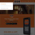15% off Orders over $50 @ BWS App