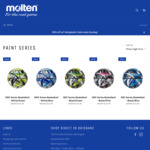 20% off All Paint Series Basketballs (from $23.96 Delivered) @ Molten Australia