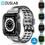 Zuslab Shockproof Bumper Case for Apple Watch 1-6, SE in Size 44, 42, 40, 38mm Band $7.89 Delivered @ Zuslab_au eBay