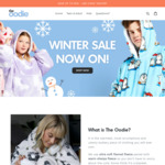 $30 Off Any Wearable Hooded Blankets / Sleep Tees (No Min Spend), Free Delivery @ The Oodie