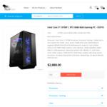 i7 10700F RTX 3080 Gaming PC with B560M, 120mm AIO, 16GB 3200MHz, 480GB SSD, 750W G PSU: $2688 + Post @ TechFast (Ship July)