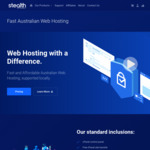 50% off (Lifetime) Australian Web Hosting (from $25 P.a.) @ Stealth Internet