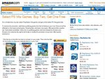 PS Vita Games - Buy 2 Get 1 Free from Amazon (US)