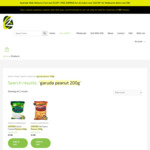 Garuda Peanuts Variety (Garlic or Spicy Flavour) 200g $1.90 ($0.95/100g) + Delivery @ OZ Grocer